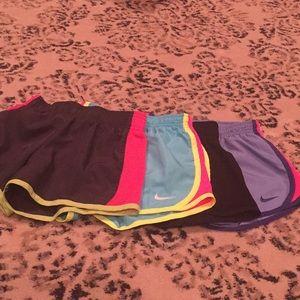 4 piece set of athletic shorts